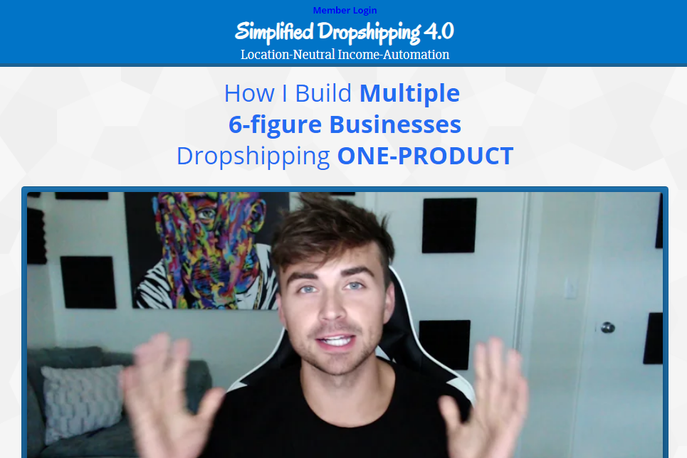 [SUPER HOT SHARE] Scott Hilse – Simplified Dropshipping 4.0 Download
