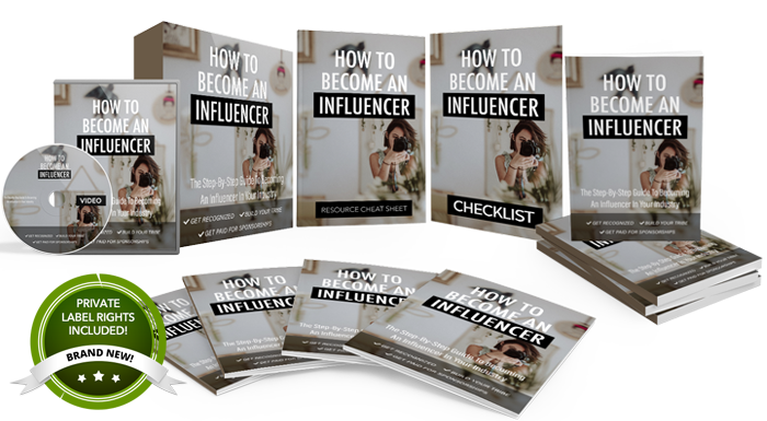 UNSTOPPABLEPLR - HOW TO BECOME AN INFLUENCER Download