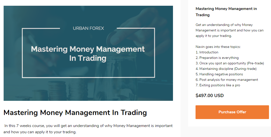 Urban Forex Mastering Money Management in Trading Download