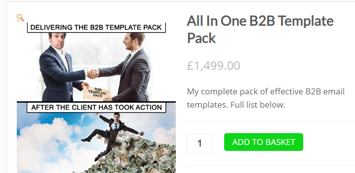 Charm Offensive – All In One B2B Template Pack Download