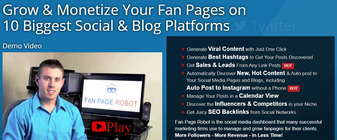 FanPage Robot Download