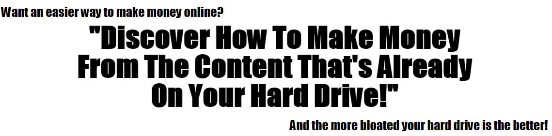 Hard Drive Profits Download