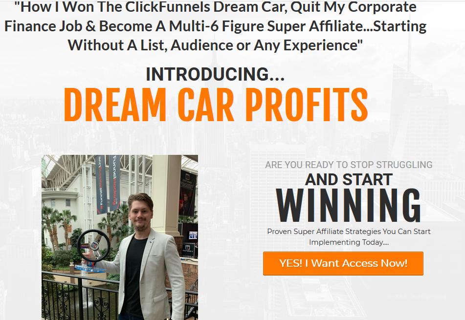Jacob Caris – Dream Car Profits Download