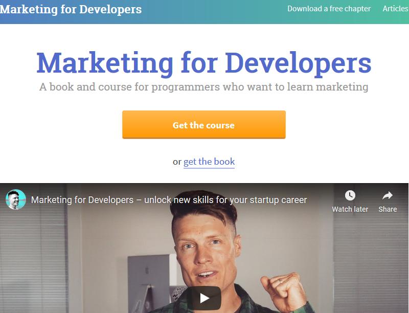 Justin Jackson – Marketing For Developers Download