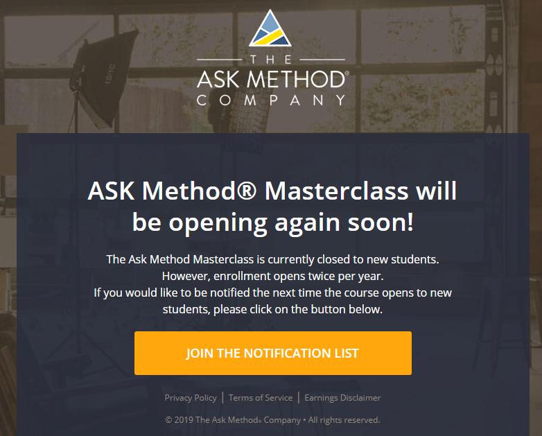 Ryan Levesque – Ask Method 2.0 Download