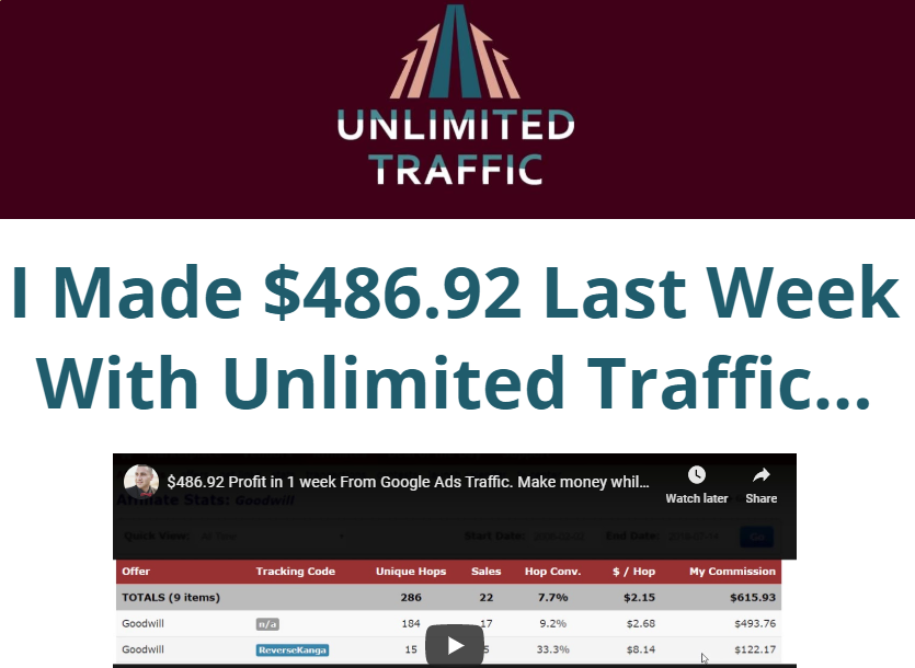 Unlimited Traffic Download