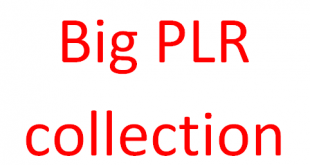 Big PLR collection Download