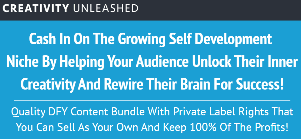 Creativity Unleashed Download