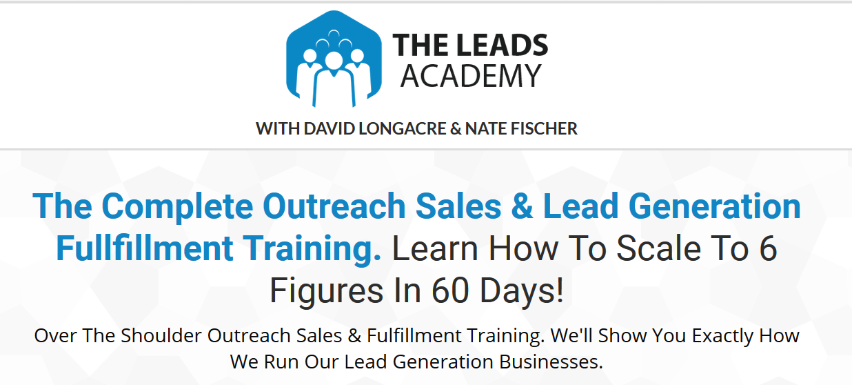 David Longacre & Nate Fischer - The Leads Academy Download