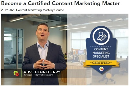 DigitalMarketer - Russ Henneberry - Become a Certified Content Marketing Specialist Download