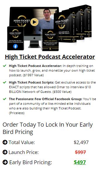 Omar Elattar – High Ticket Podcast Accelerator Download
