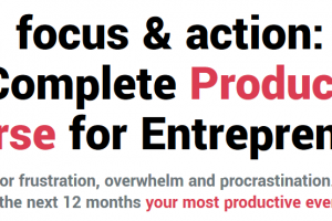 Shane Melaug - Focus & Action Productivity Course 2019 Download