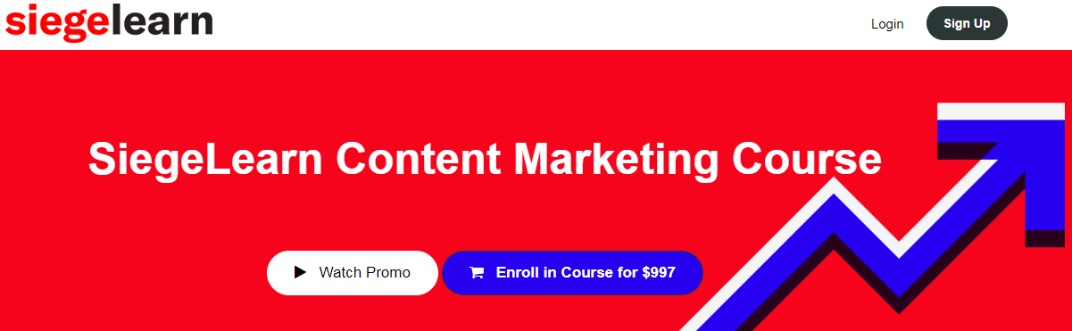 SiegeLearn Content Marketing Course Download