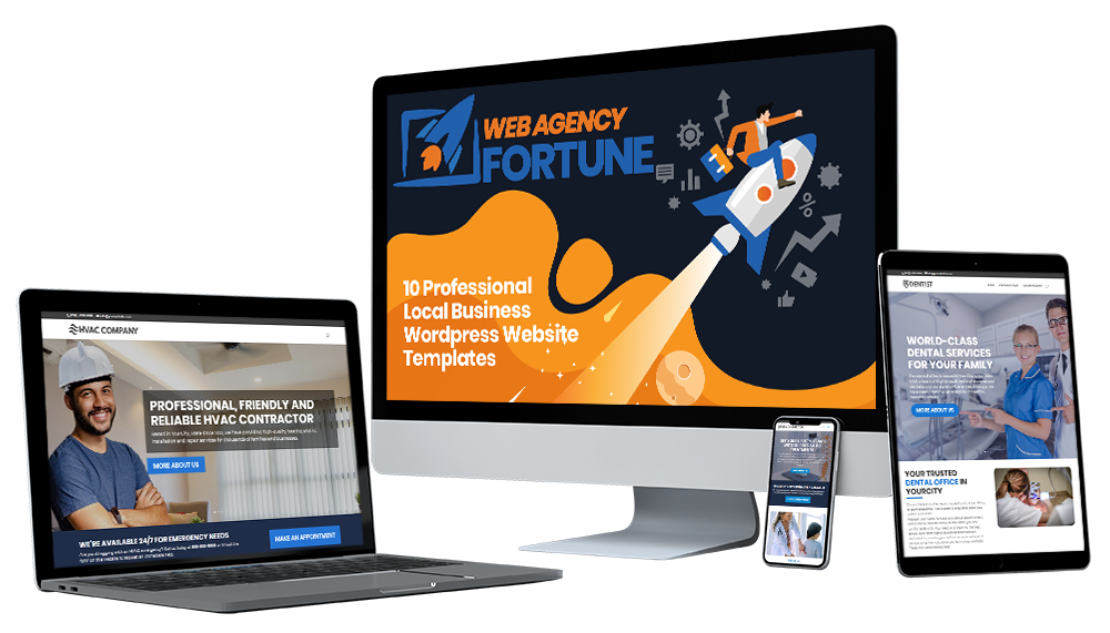 Web Agency Fortune Deluxe Package Download