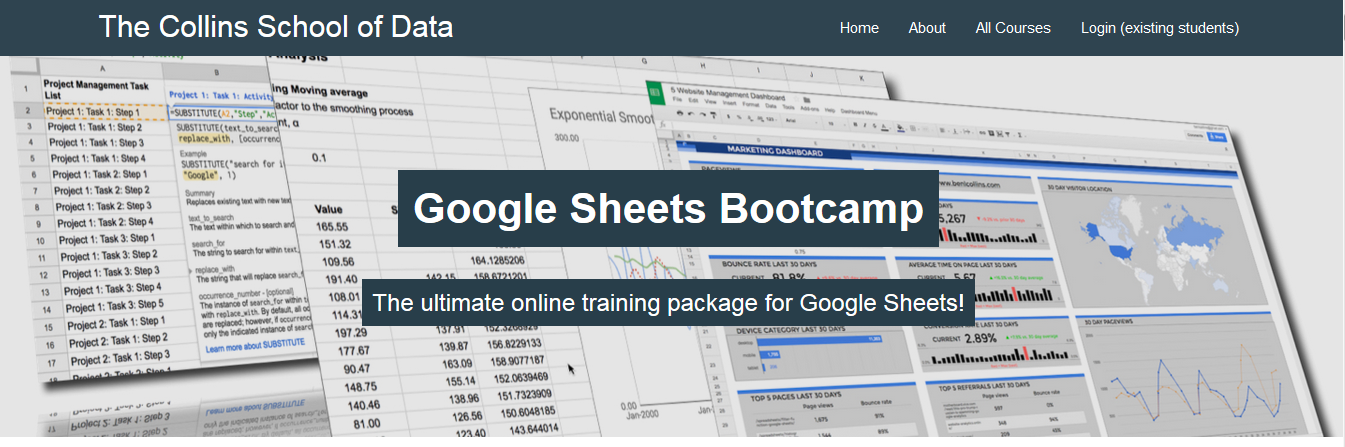 Ben Collins - Google Sheets Bootcamp Download