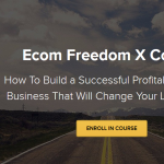 Dan Vas - Ecom Freedom X Course 2019 Download