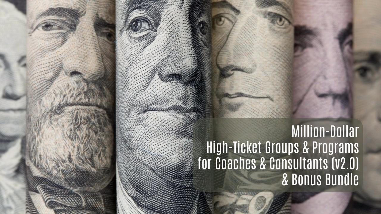 Dr. Joseph Riggio – Million Dollar High Ticket Groups and Programs 2.0 Download