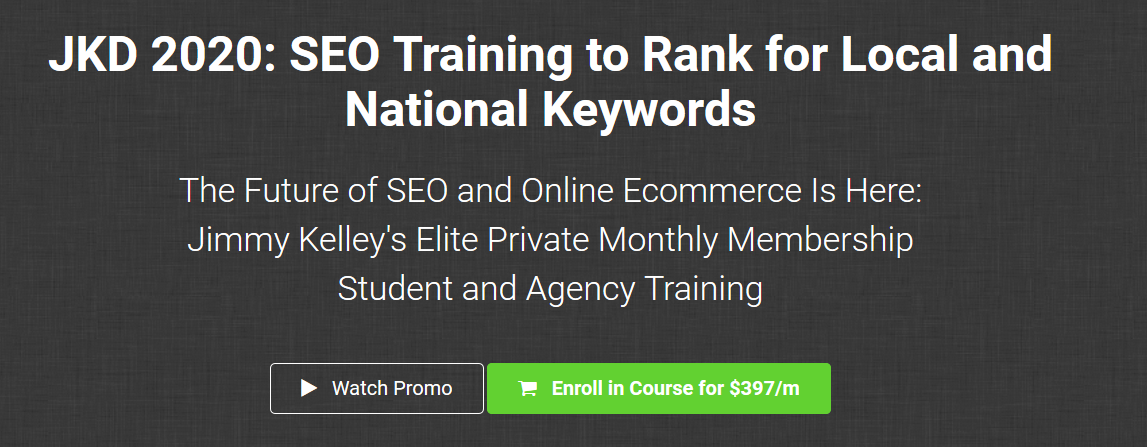 JKD 2020 SEO Training to Rank for Local and National Keywords Download