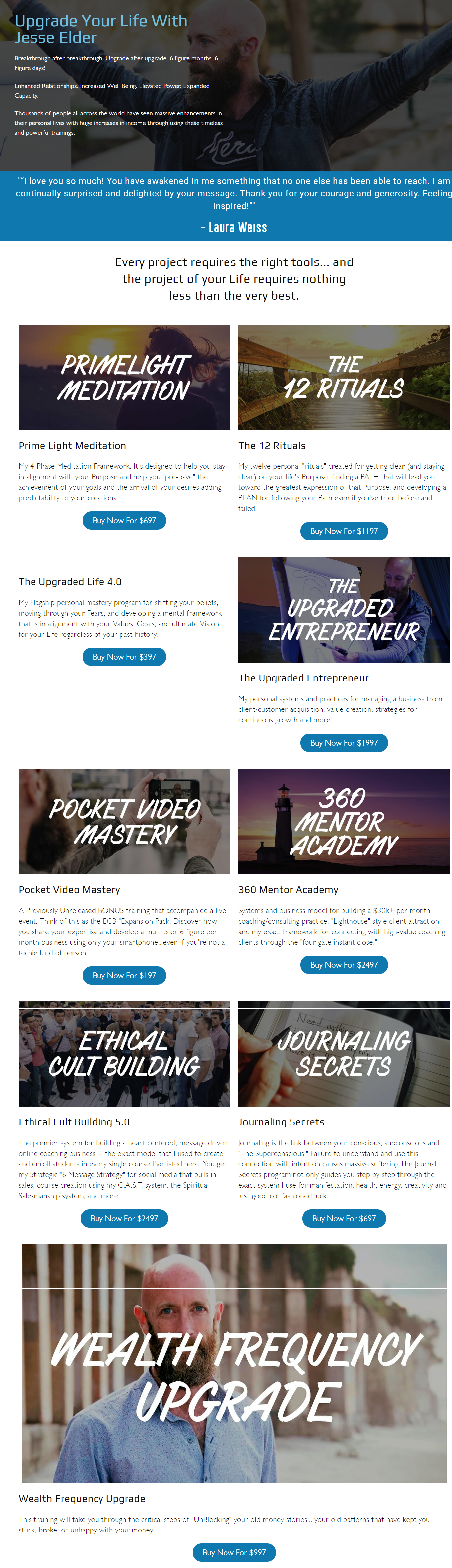 Jesse Elder – Entire Library Of Courses Download