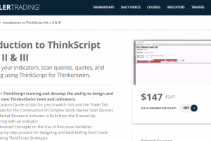 Simpler Trading - INTRODUCTION TO THINKSCRIPT VOL. I, II & III Download