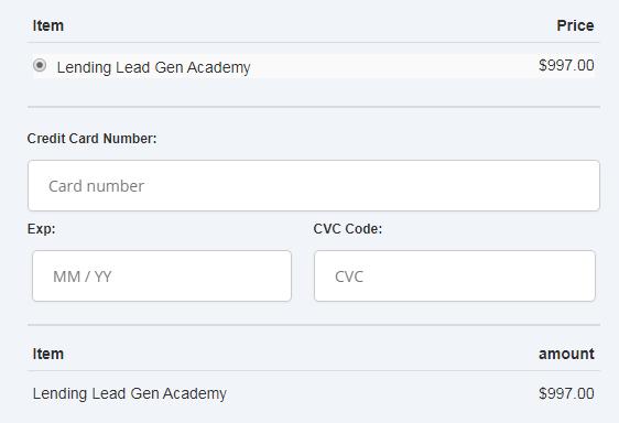 The Lending Lead Gen Academy Download