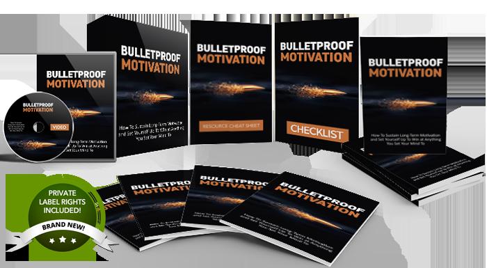 UNSTOPPABLE PLR - Bulletproof Motivation Download