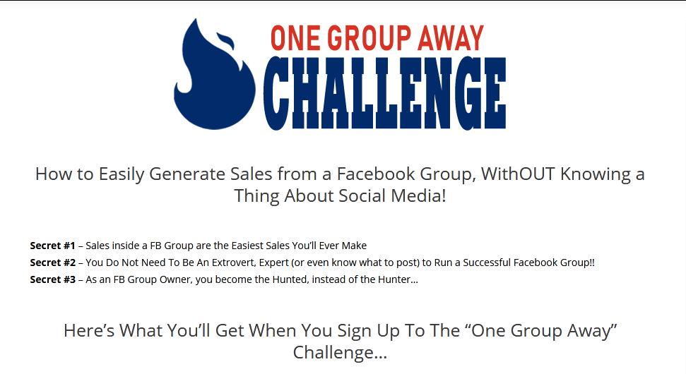 Alex Elliot – One Group Away Challenge Download