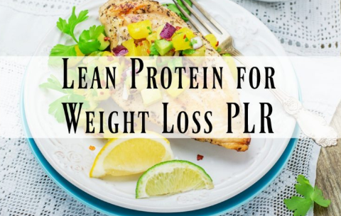 Lean Protein for Weight Loss PLR Pack Download