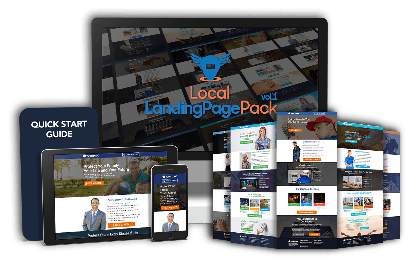Local Landing Page Pack 2020 Download