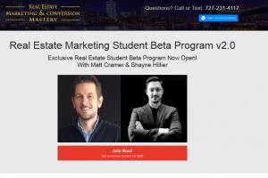 Matt Cramer & Shayne Hillier - Real Estate Marketing Student Beta Program v2.0 Download