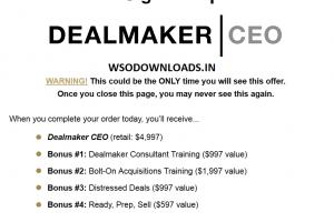 Carl Allen – Dealmaker Wealth Society Download