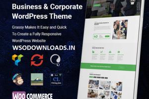 Grassy - Business WordPress Theme Download