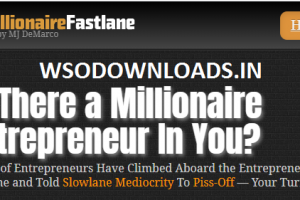 MJ DeMarco - The Millionaire Fastlane Download