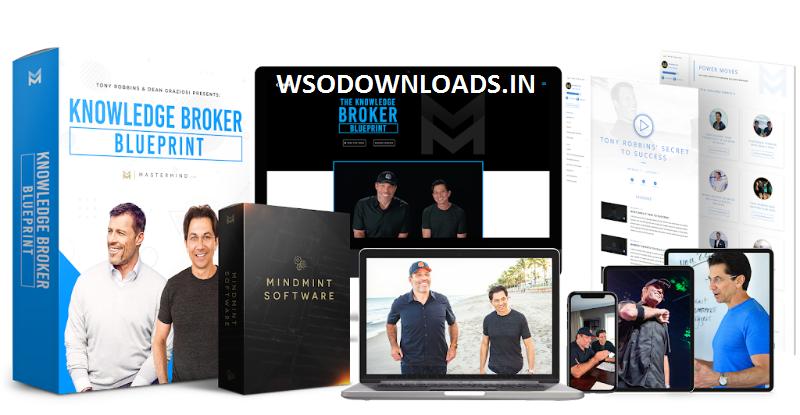 Tony Robbins, Dean Graziosi - The Knowledge Broker Blueprint Download