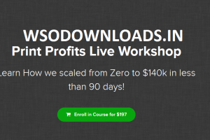 James Beattie – Print Profits Live Workshop Download