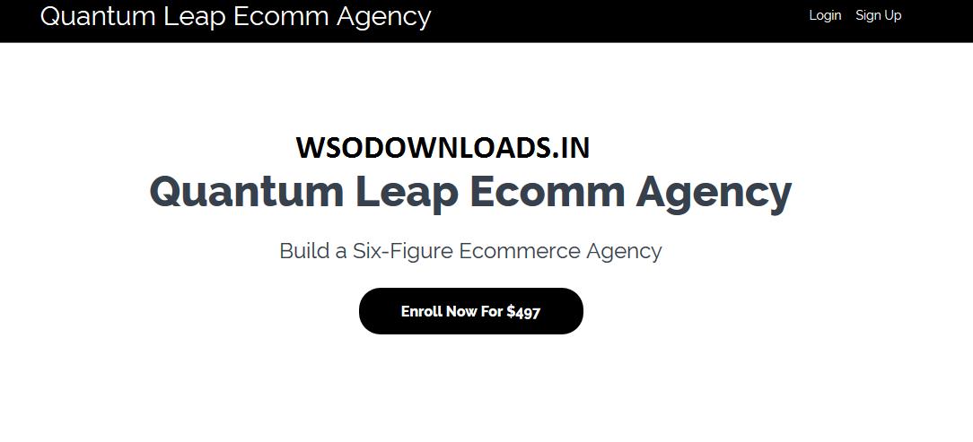 Kai Bax Quantum Leap Ecomm Agency Download