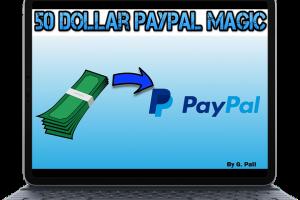 50 Dollar PayPal Magic Download
