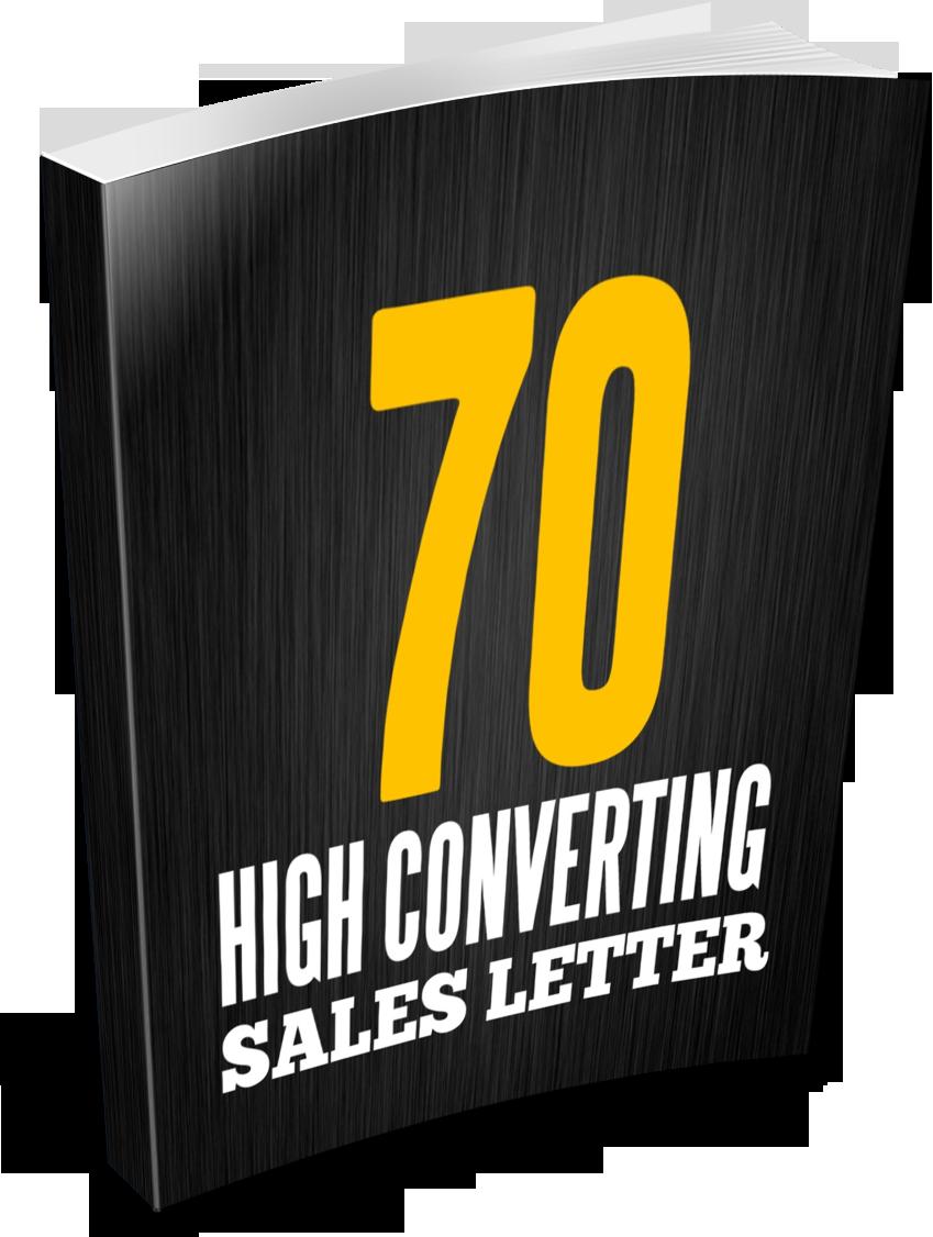 70 DFY Sales Letters Download