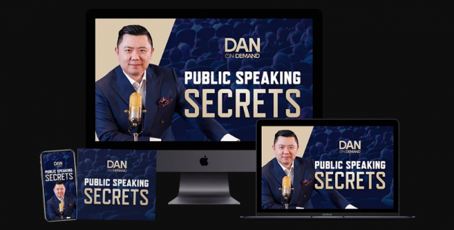 Dan Lok – Public Speaking Secrets Download