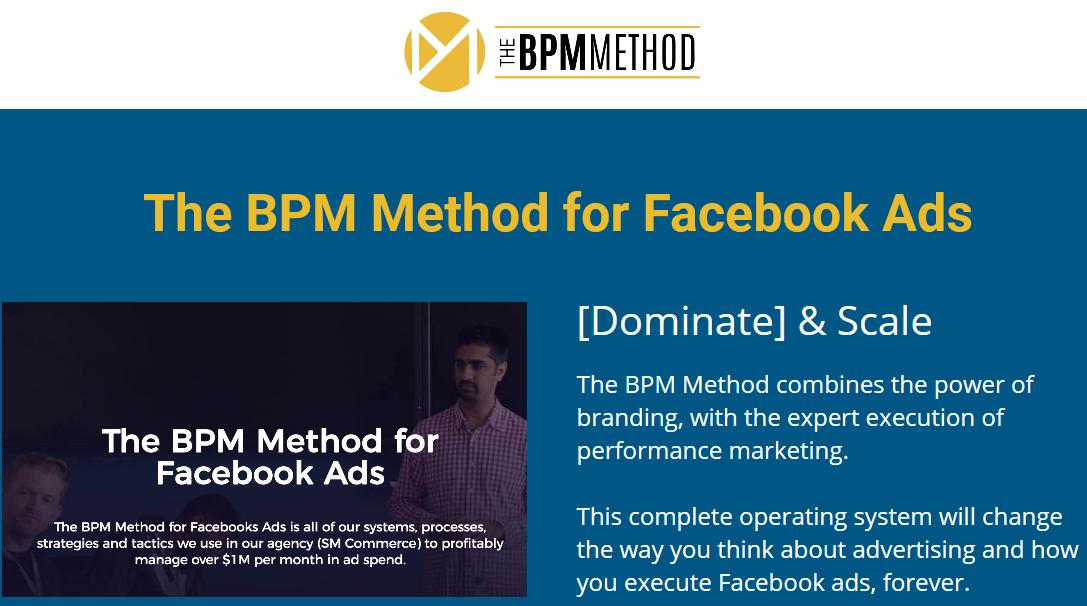 Depesh Mandalia – The BPM Method (Facebook Ads 2020) Download