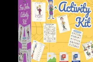 Children's Fun Jobs Activity Kit Free Download
