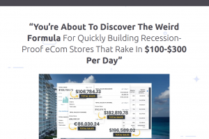 Dropship Code - eCom Stores That Rake In $100-$300 Per Day Free Download