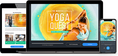 The Mindvalley Yoga Quest - Cecilia Sardeo