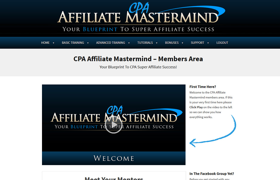 CPAAM – CPA Affiliate Mastermind Download