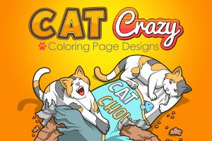 Cat Crazy Coloring Pages (FE Only) Free Download