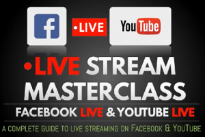 LIVE Streaming Masterclass- Facebook YouTube Instagram (2020) Free Download