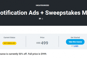 Nick Lenihan – Push Notification Ads + Sweepstakes Mastery Download