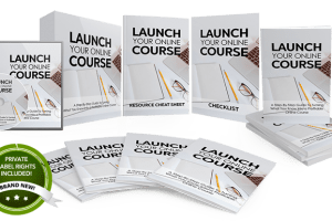 Unstoppable PLR - Launch Your Own Online Course PLR Free Download