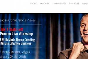 Mario Brown MissionPreneur Live Workshop Download
