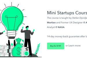 Stefan Djordjevic – Mini Startups Course Download